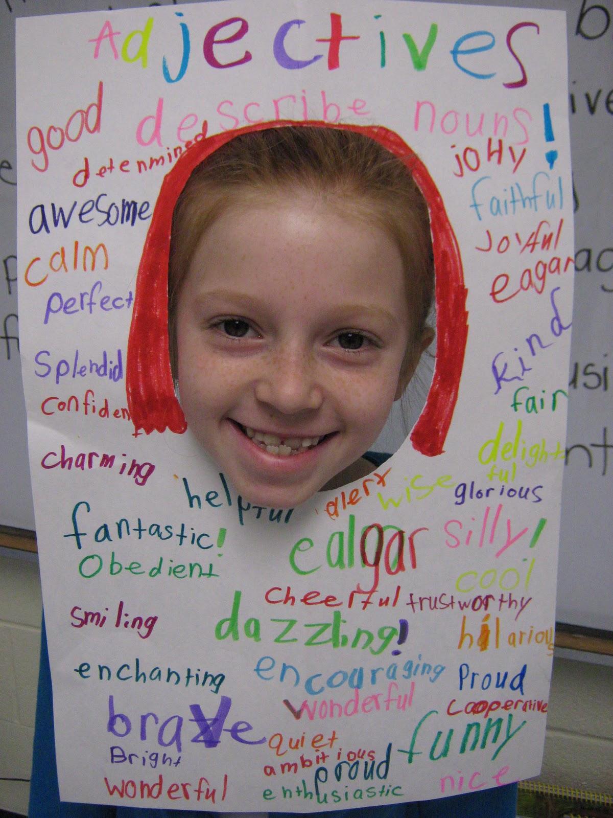 Mrs Truett S 3rd Grade Adjectives