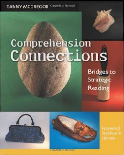 Book Cover with text comprehension connections