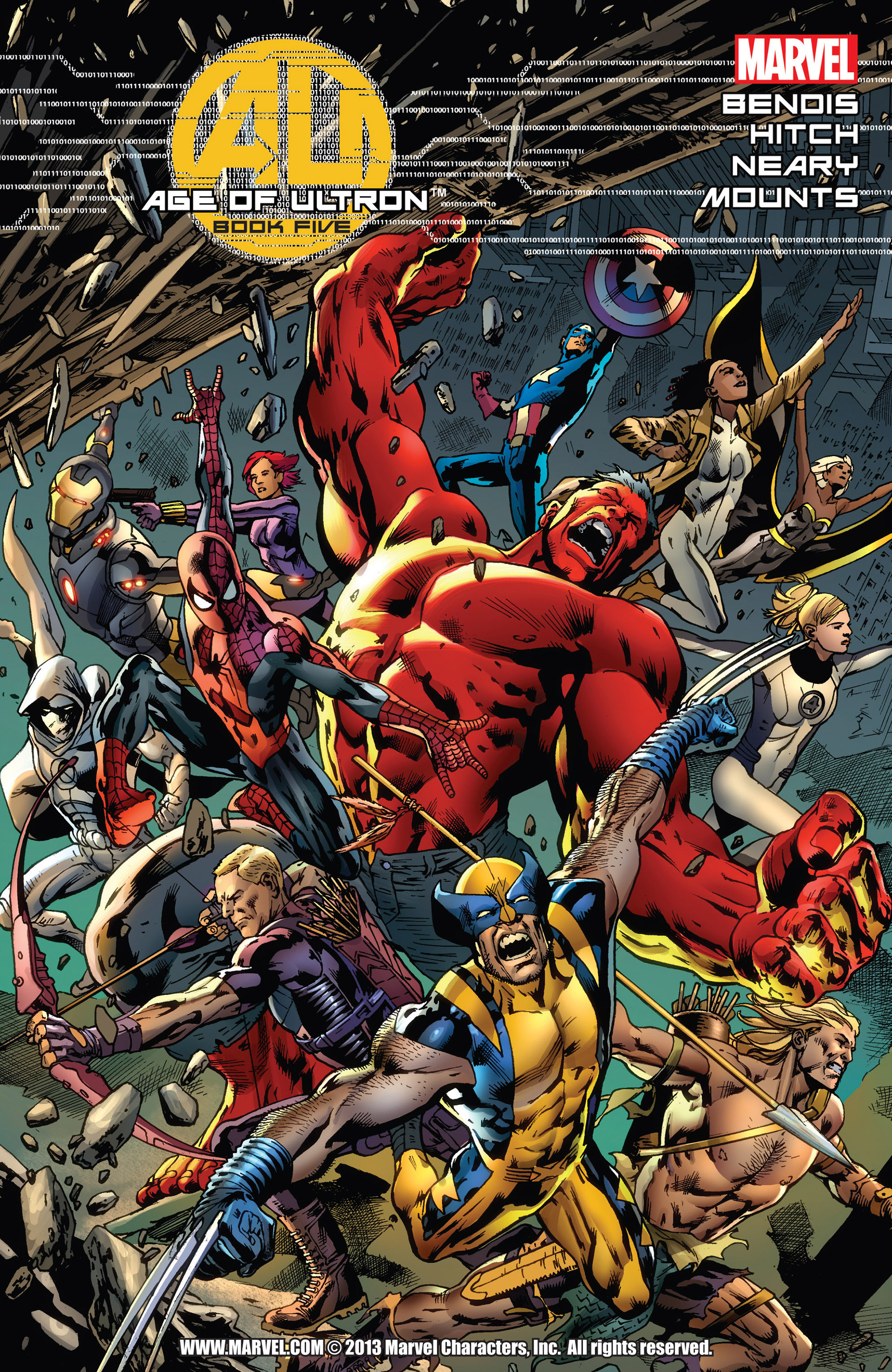 Read online Age of Ultron comic -  Issue #5 - 1