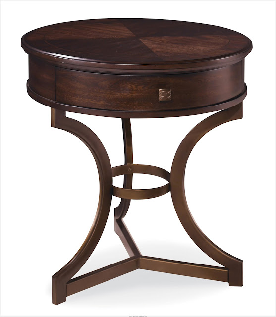 Simple Round End Tables For Sale Picture