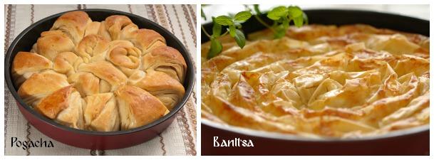 Pogacha y Banitsa Bulgaria