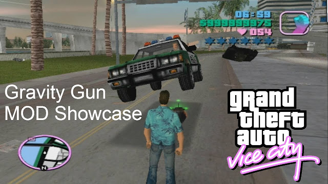 GTA Vice City Gravity Gun Mod Free Download For Pc - Latest Games