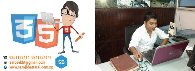 Responsive Website Designer in Nepal