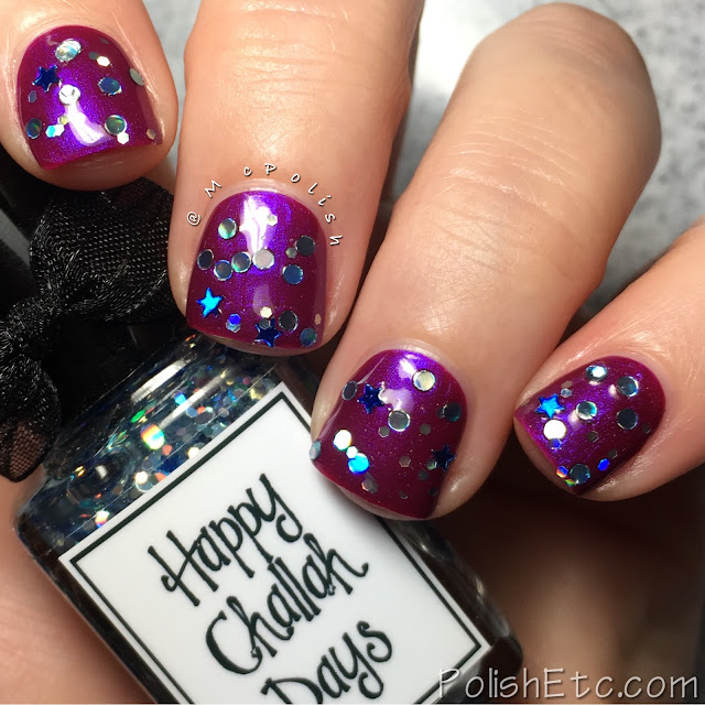 Whimsical Ideas by Pam - Holiday 2016 - McPolish - Happy Challah Days