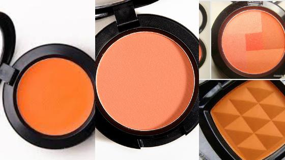 blush laranja maquiagem verao