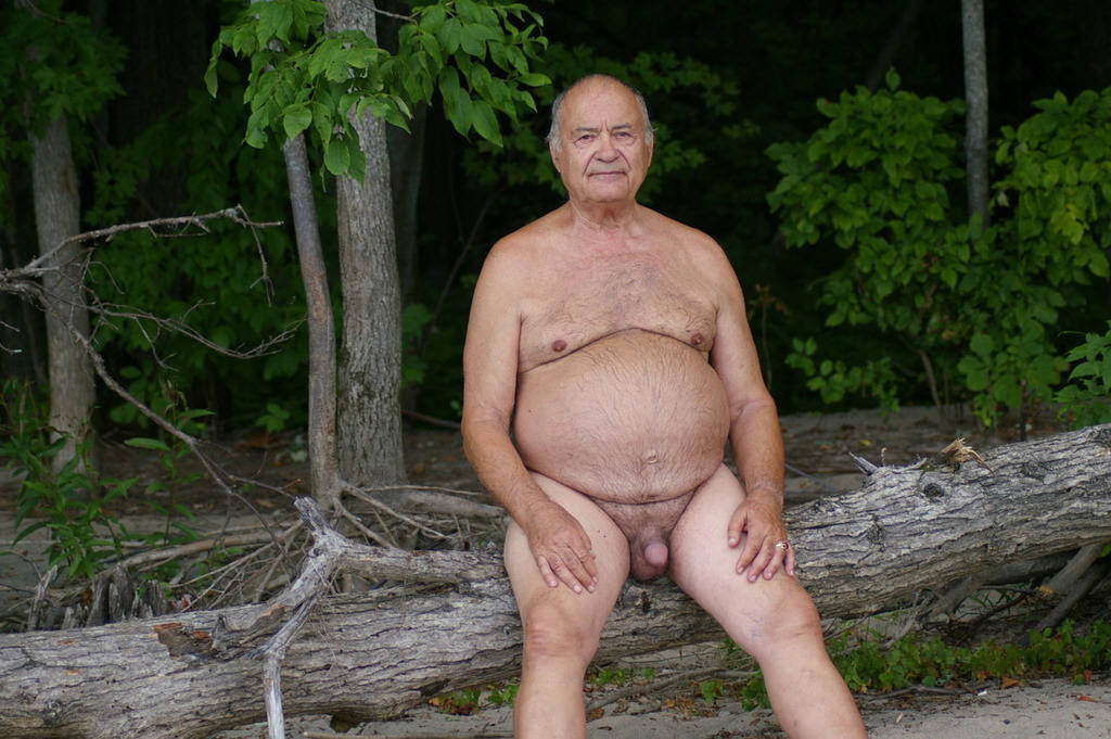 Naked Old Guys 35