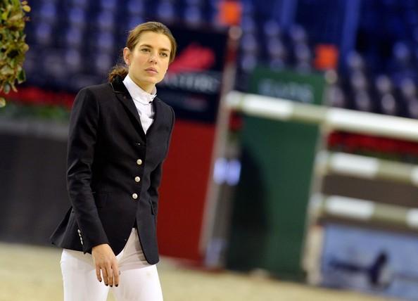 Charlotte Casiraghi participates in in the 2012 Gucci Masters equestrian competition. Charlotte Casiraghi
