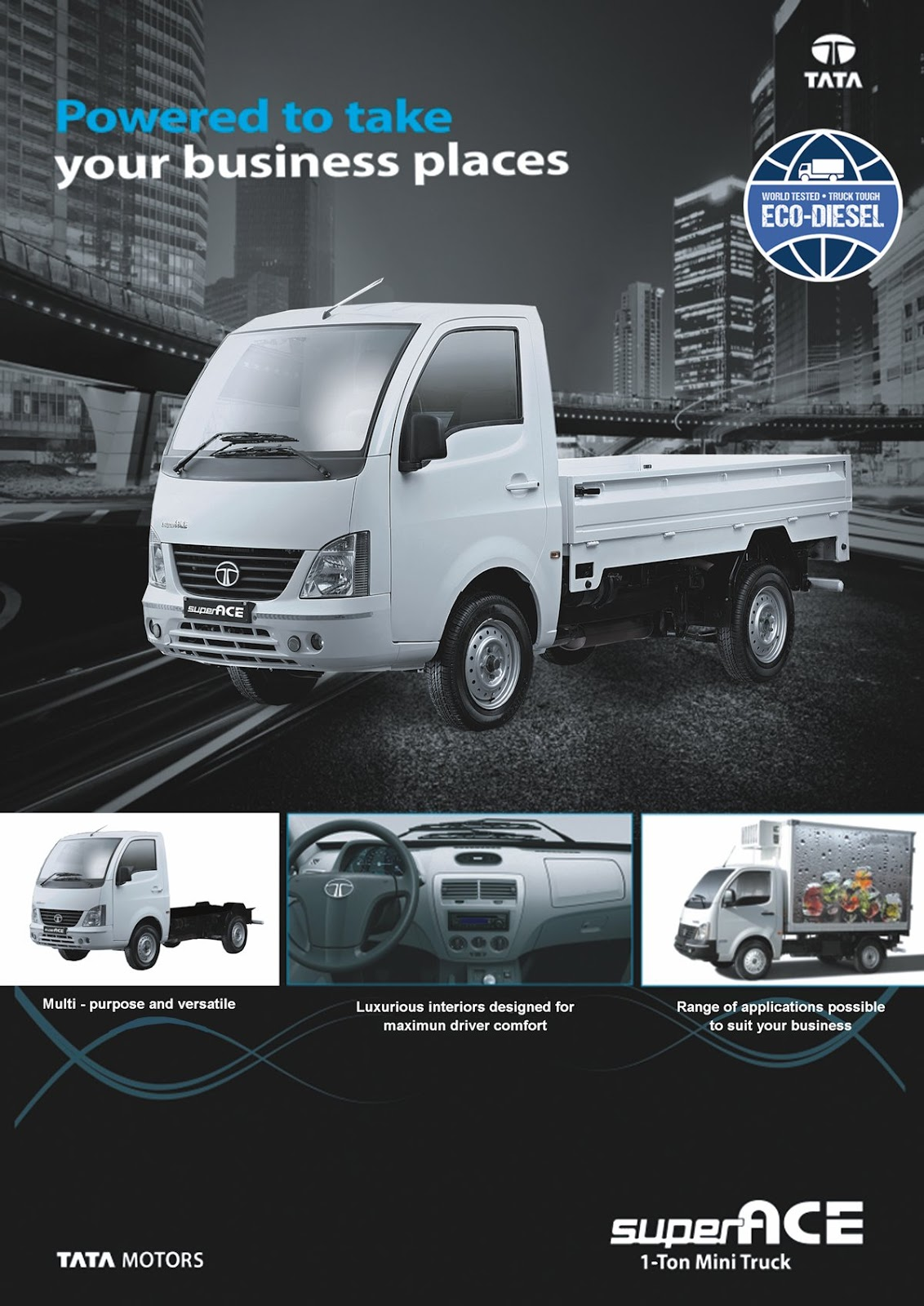 Tata Philippines Introduces Super Ace W Brochure