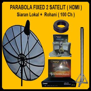 Pasang Antena Parabola