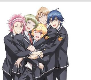 Download Anime Binan Koukou Chikyuu Bouei-bu LOVE! LOVE! Episode 1 Subtitle Indonesia