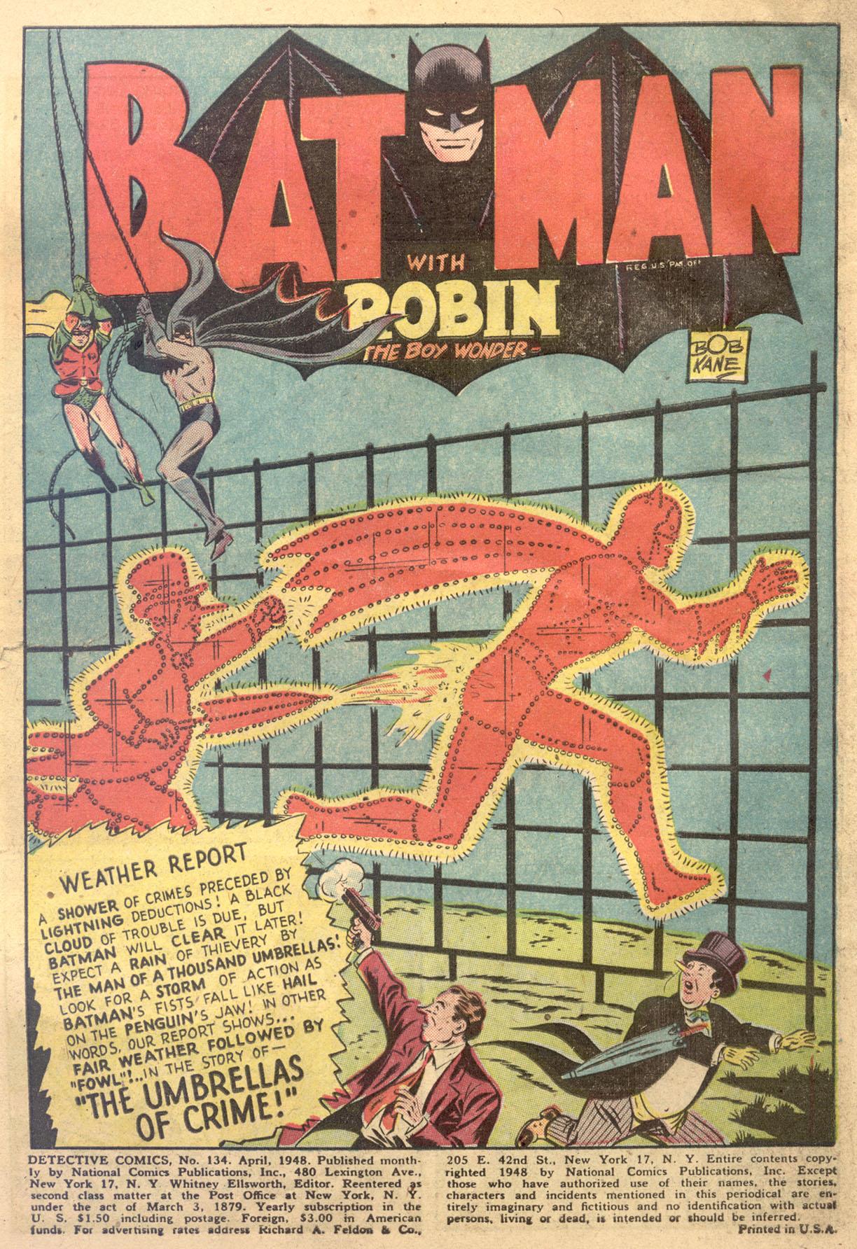Read online Detective Comics (1937) comic -  Issue #134 - 3
