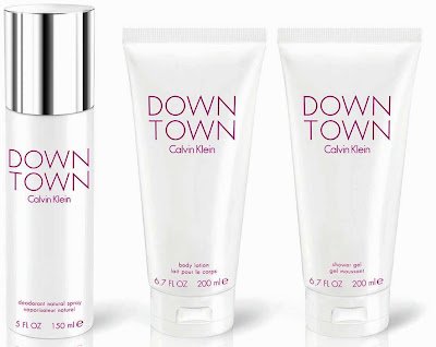 DOWNTOWN Calvin Klein, Calvin Klein, fragrance, eau de parfum, floral woody, body lotion, body wash