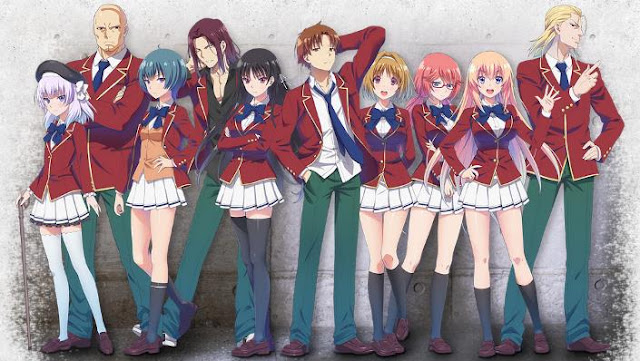 Anime dengan Karakter Utama Cool Classroom of the elite