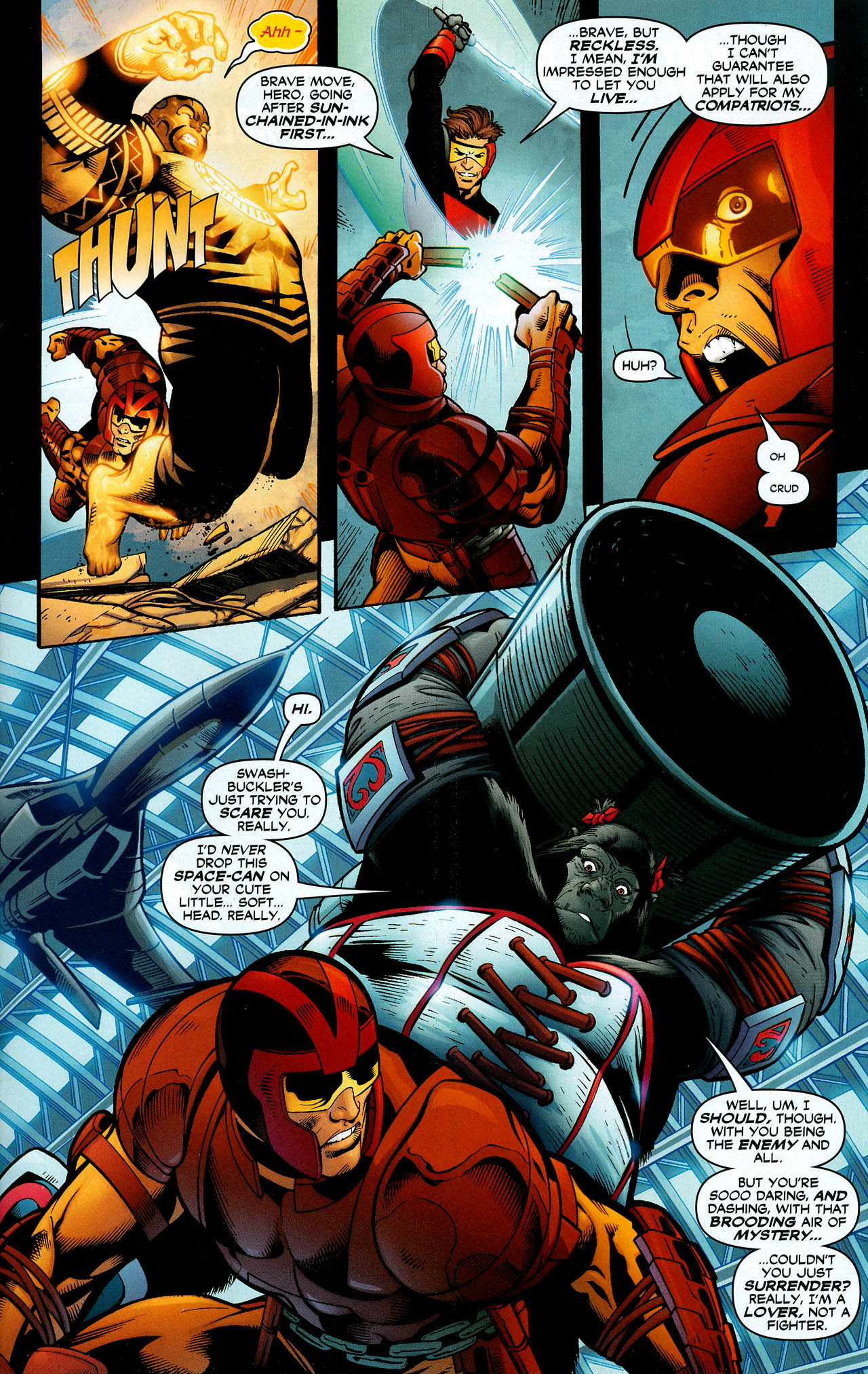 Read online Trinity (2008) comic -  Issue #11 - 26