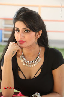 Telugu Actress Harini Stills at Dhyavudaa Movie Teaser Launch  0352.JPG