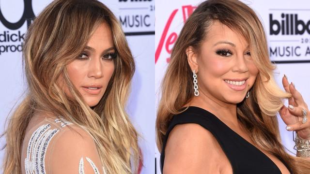 Jennifer López explica su situación con Mariah Carey.