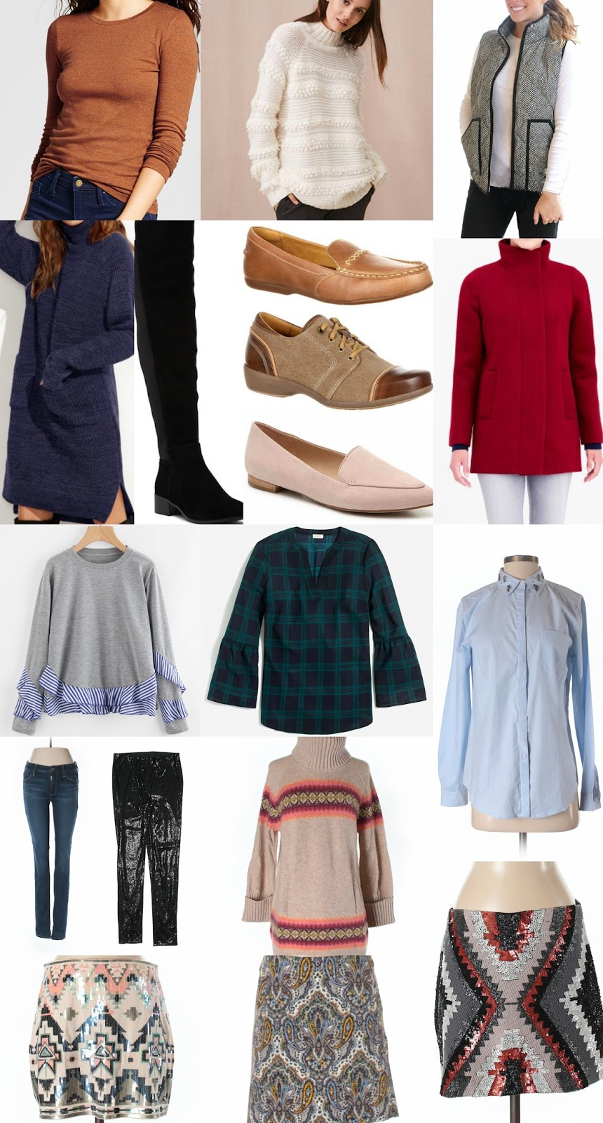 december clothing budget