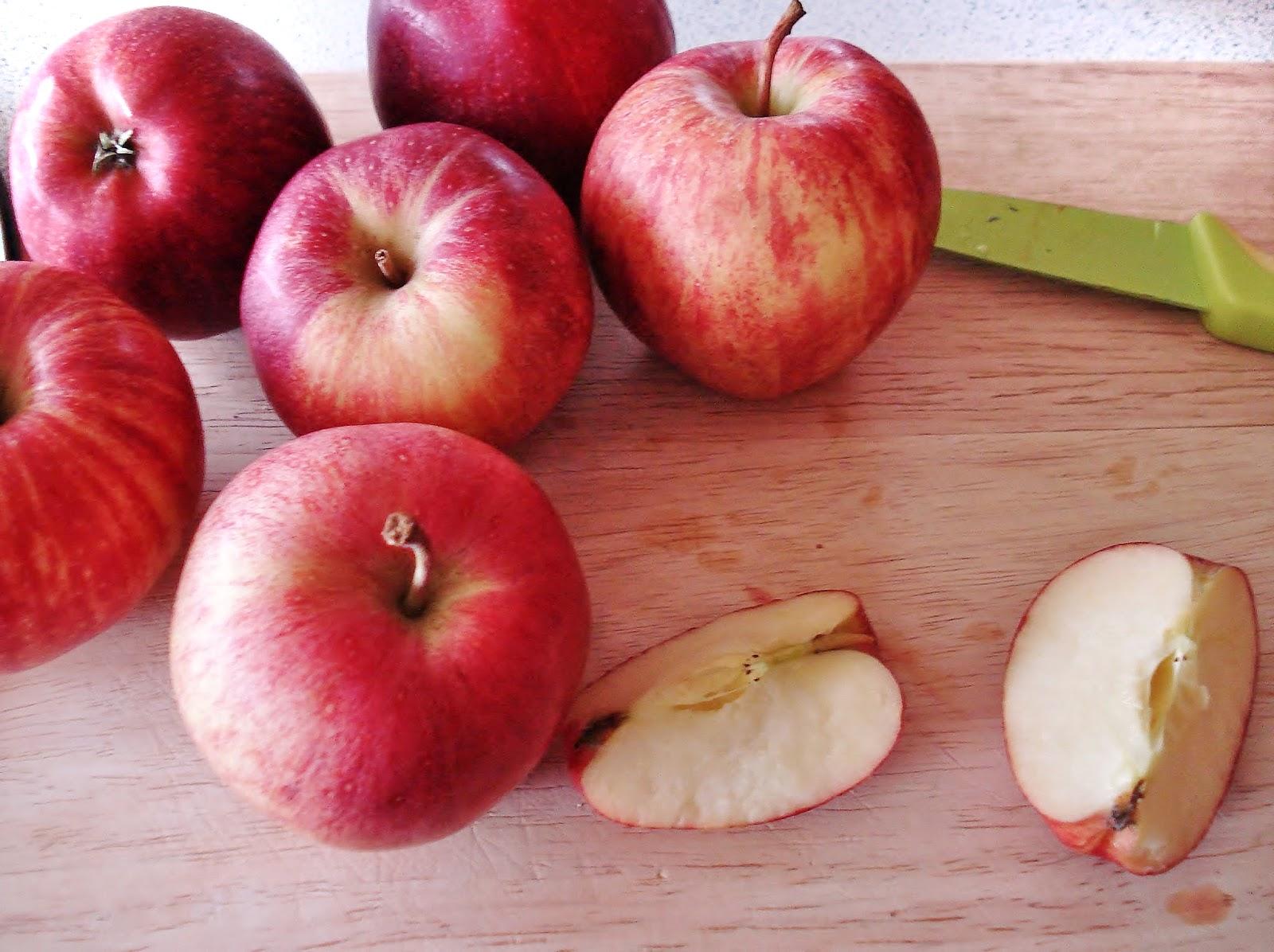 Диета из яблоки