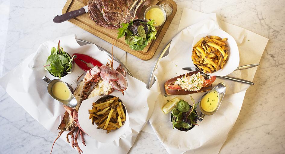 les pinces, restaurant, homard, paris, vintage