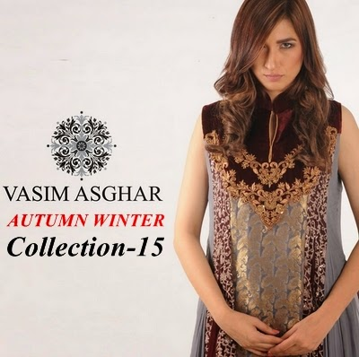 8421c755e75 Vasim Asghar A W Collection 2014-2015 - Semi-Formal Evening Wear ...