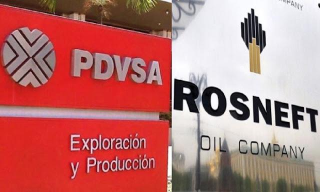 Jefe de una petrolera rusa viajó a Caracas para intentar reclamar los envíos de petróleo que están retrasados