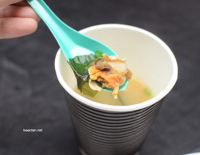 Hotate Miso Soup