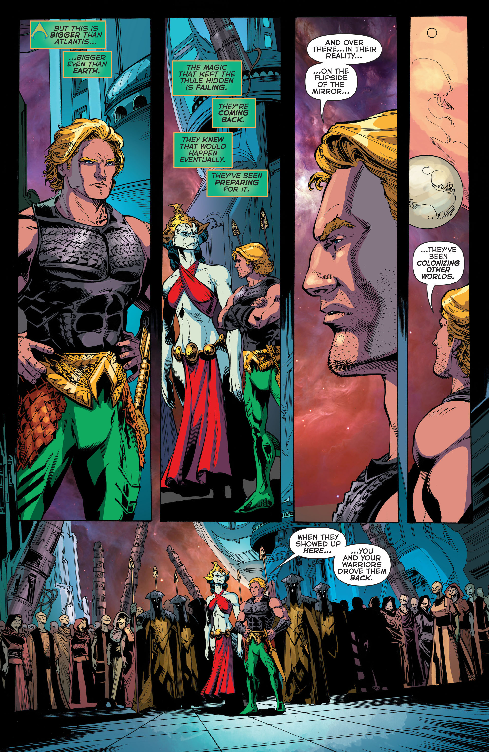Read online Aquaman (2011) comic -  Issue #45 - 18