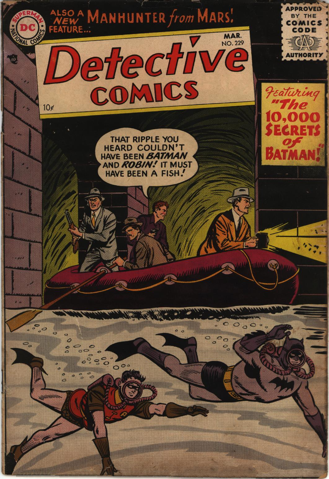 Detective Comics (1937) 229 Page 1