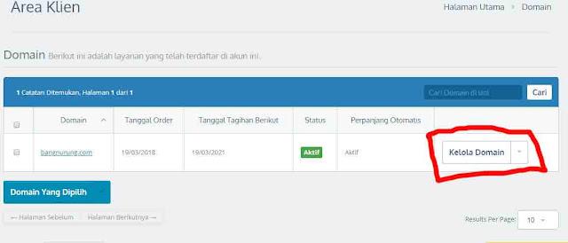 setting domain ke blogger dengan mudah