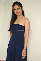 Radhika Mehrotra in sleevless Strap less Blue Gown At Prema Entha Madhuram Priyuraalu Antha Katinam Movie Interview ~  Exclusive 084.JPG