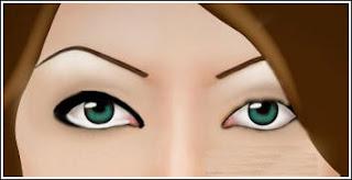 خطوات وضع الكحل لتوسيع العين و اخفاء الهالات السوداء بالصور التوضيحيه