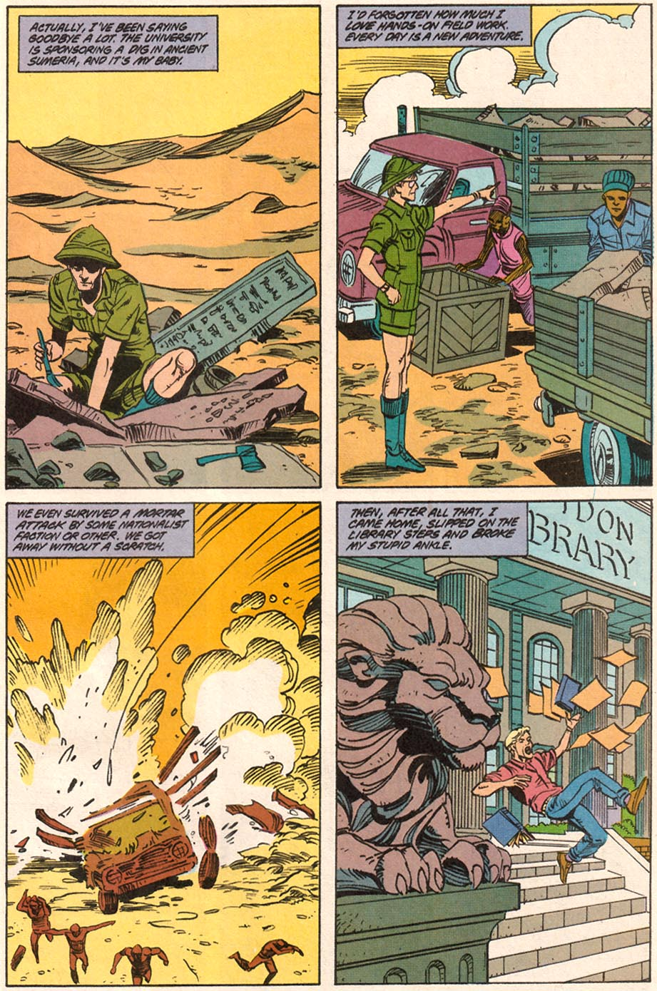 Read online Wonder Woman (1987) comic -  Issue #71 - 20