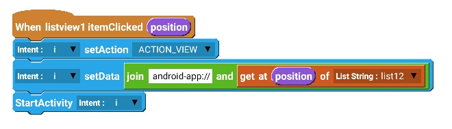 android get installed application package name