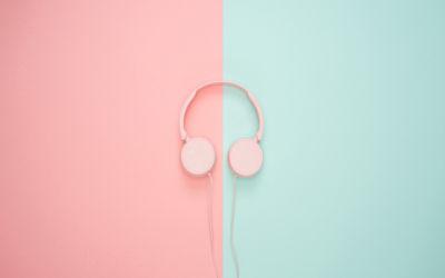 Écouteurs Art Minimaliste - Fond d'écran en Full HD