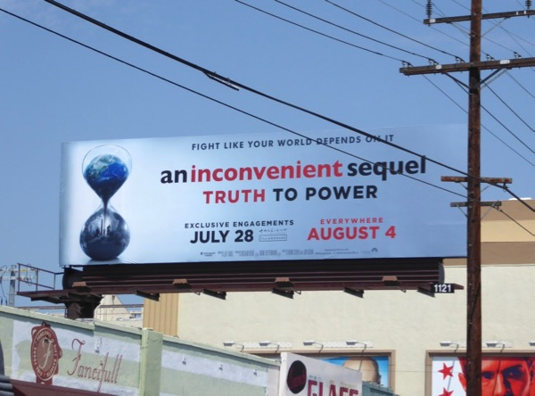 Inconvenient Sequel Truth to Power billboard