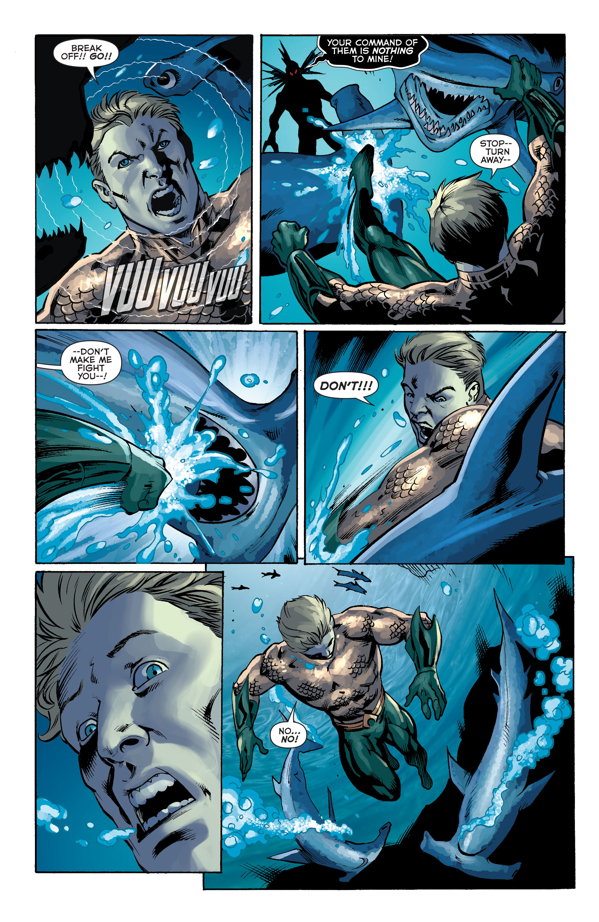 Read online Aquaman (2011) comic -  Issue #34 - 7