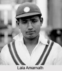 Indian cricketer-Lala Amarnath-India national cricket team