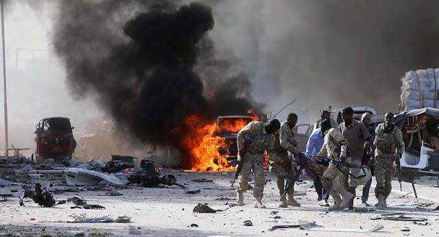 Somalia's Capital Mogadishu Hit By Huge Car Explosion