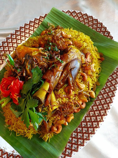 Moroccan Chicken Rice - Nasi Ayam Morocco