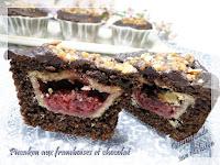 Piecaken aux framboises et chocolat sans gluten