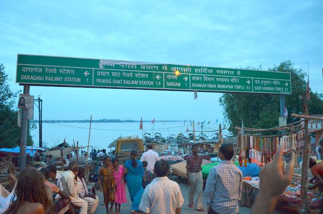 Triveni Sangam, Prayag, Allahabad, Uttar Pradesh