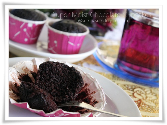 hasue  love  life resepi super moist chocolate cupcake Resepi Www Kek Cawan Com My Enak dan Mudah