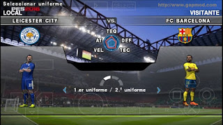 Download PES 2016 Panda Patch by Ascend DeGea PSP Android