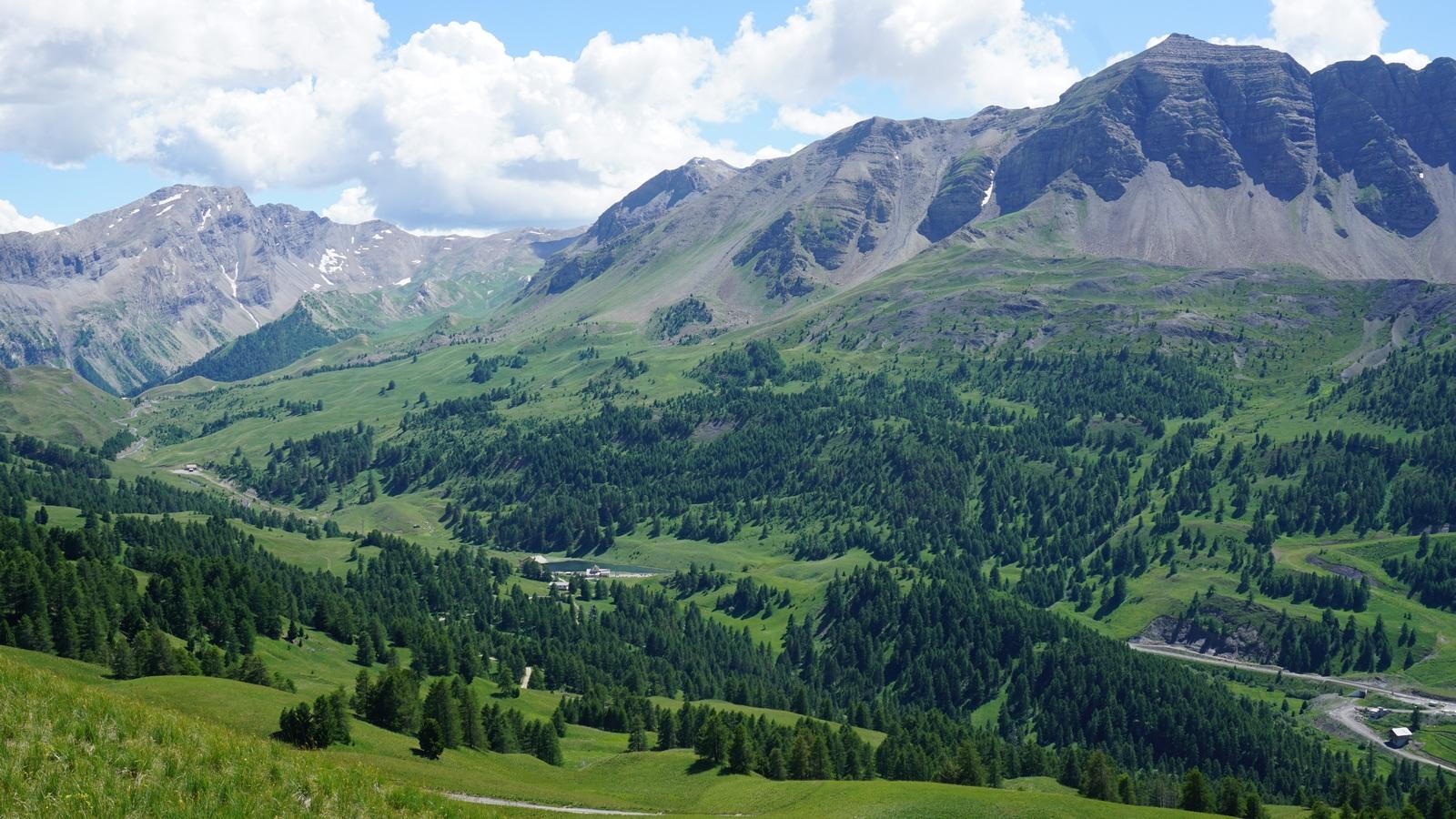 Refuge Napoléon seen from Peynier