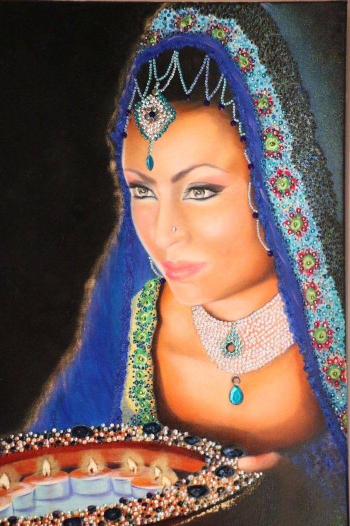 Турецкий художник. Nersel zur Muehlen