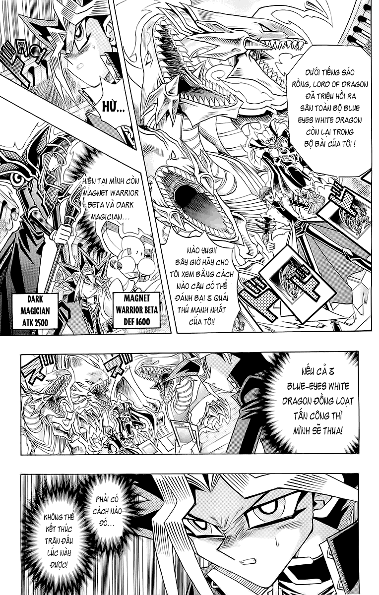 YUGI-OH! chap 260 - red-eyes black gragon trang 4