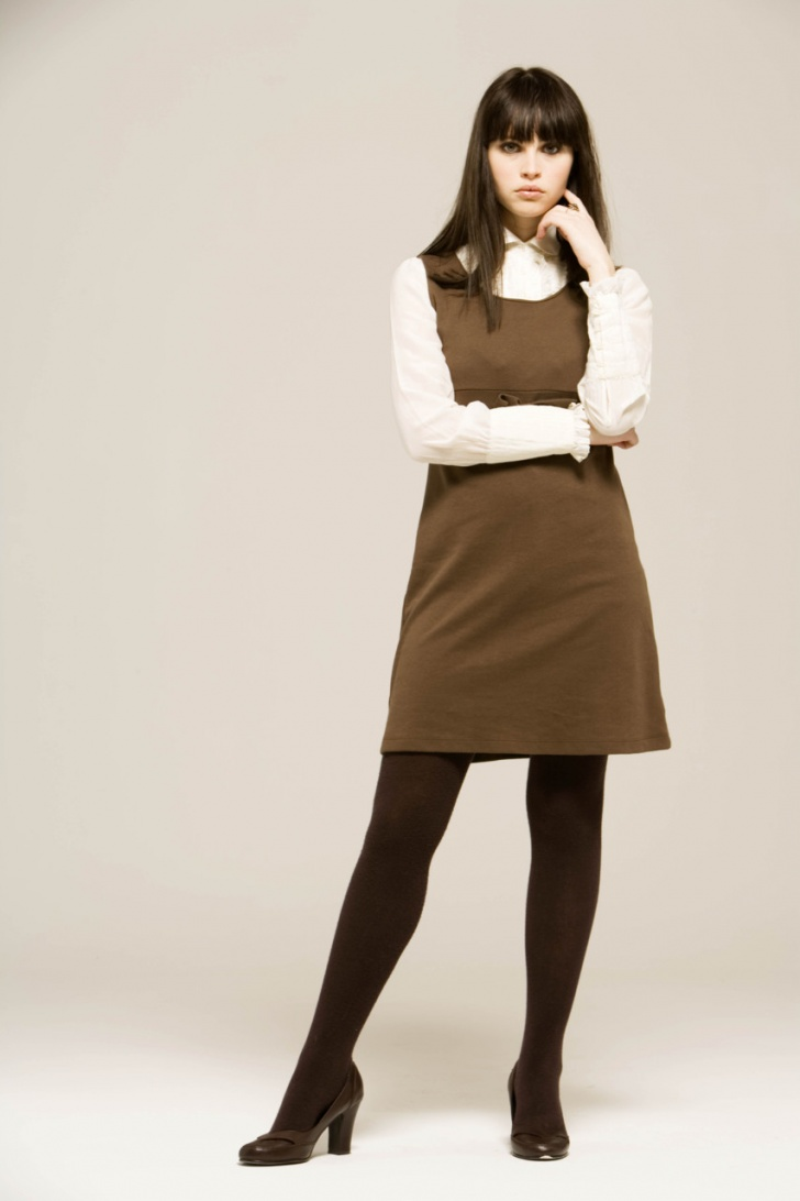 fashion tights skirt dress heels  business woman outfit