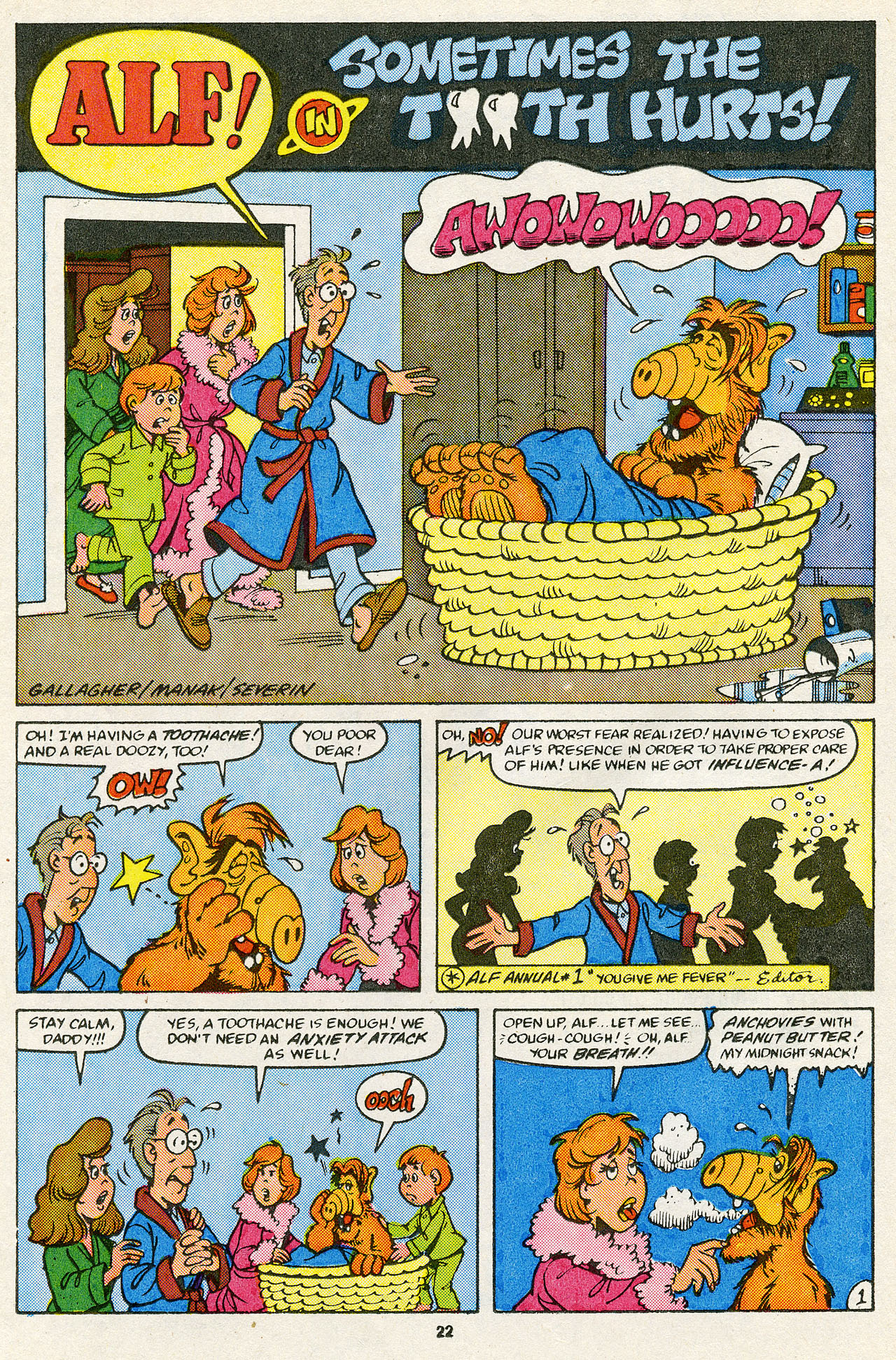 Read online ALF comic -  Issue #14 - 24