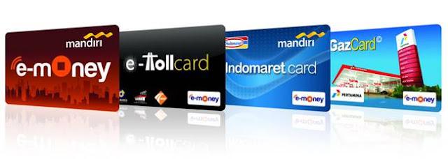 E-Money (Ex. E-Toll) yang bisa digunakan sebagai alat pembayaran elektronik Commuter Line
