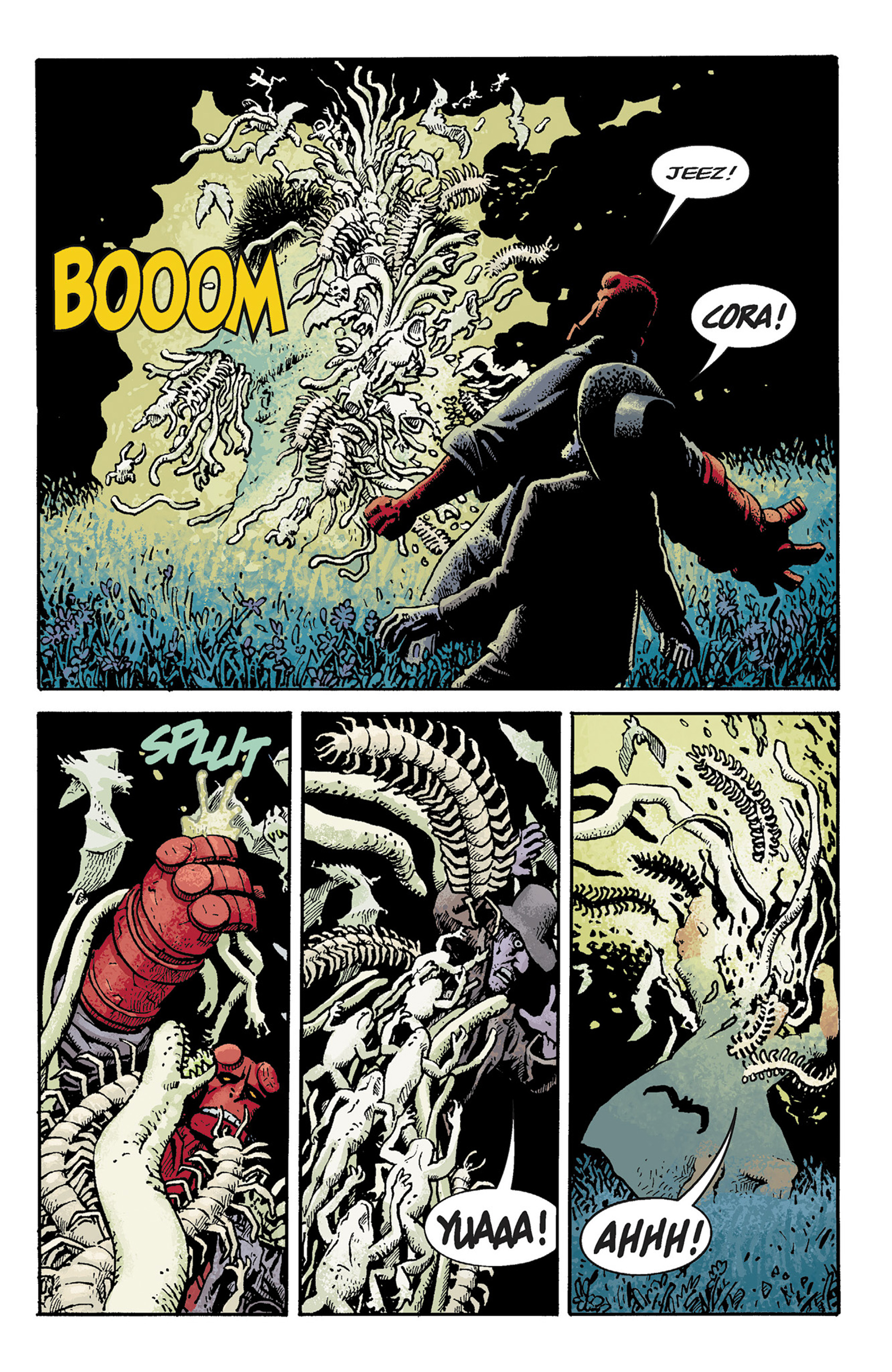 Read online Hellboy: The Crooked Man and Others comic -  Issue # TPB - 43